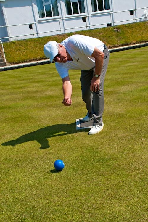 Lawn Bowls at St. Columb Major bowling club